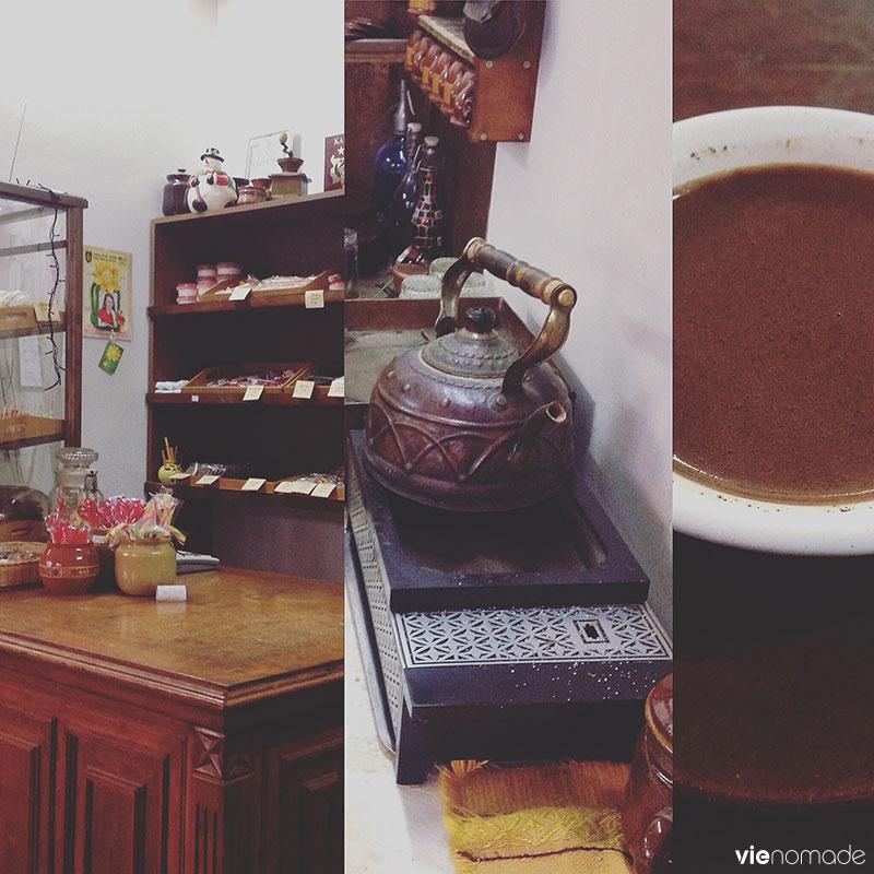 Café sur sable à Veliko Tarnovo