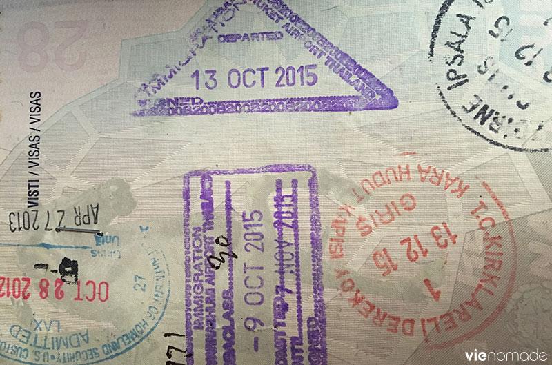Tampon turc sur mon passeport