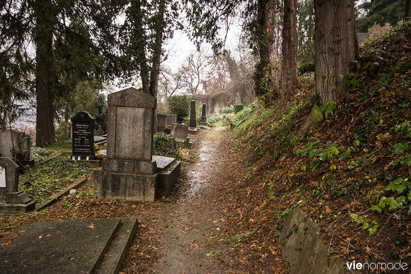 Sighisoara, cimetière sur la colline