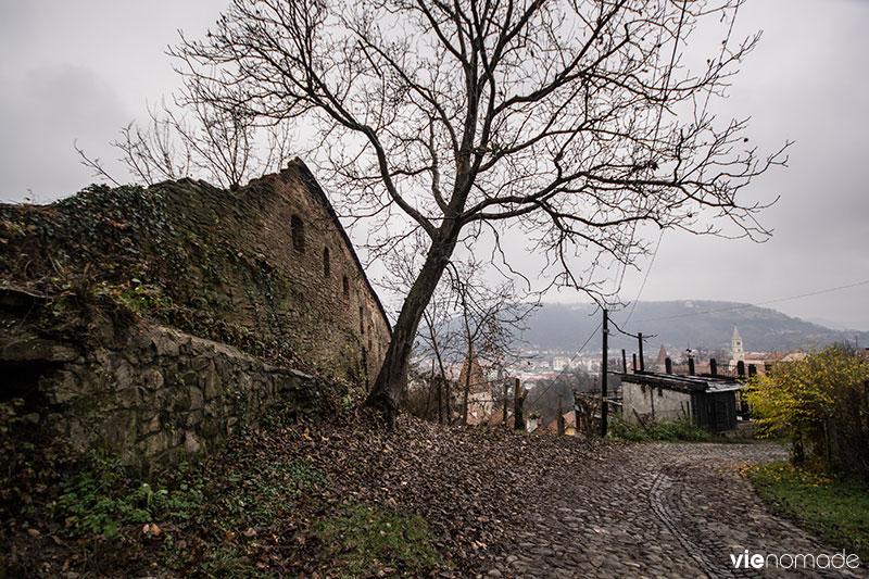 Sighisoara, sur la colline