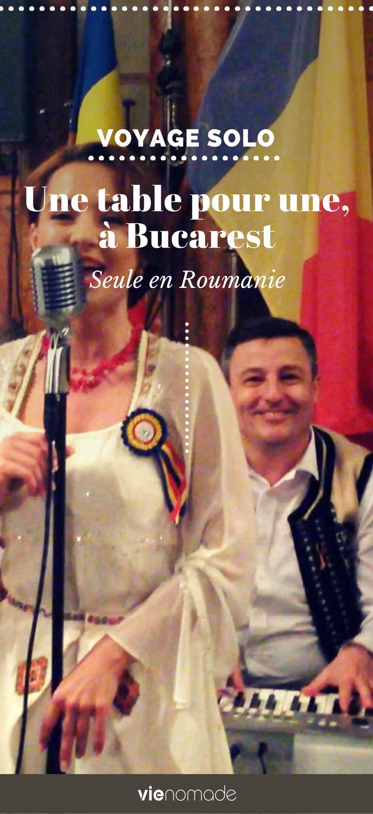 Voyage solo: à Bucarest, en Roumanie