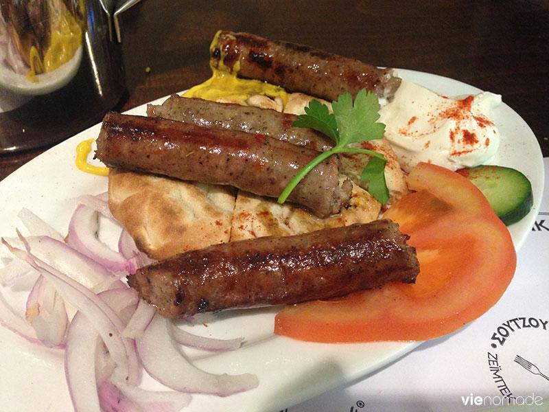 Manger à Athènes