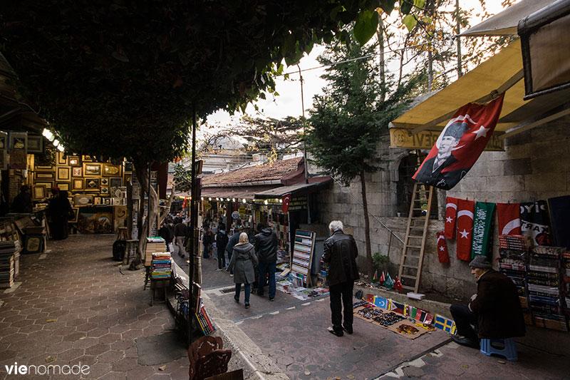 Marché au livres d'Istanbul, Sahaflar Çarşısı
