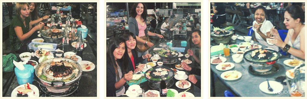 Mukata, cuisine Thaïlande