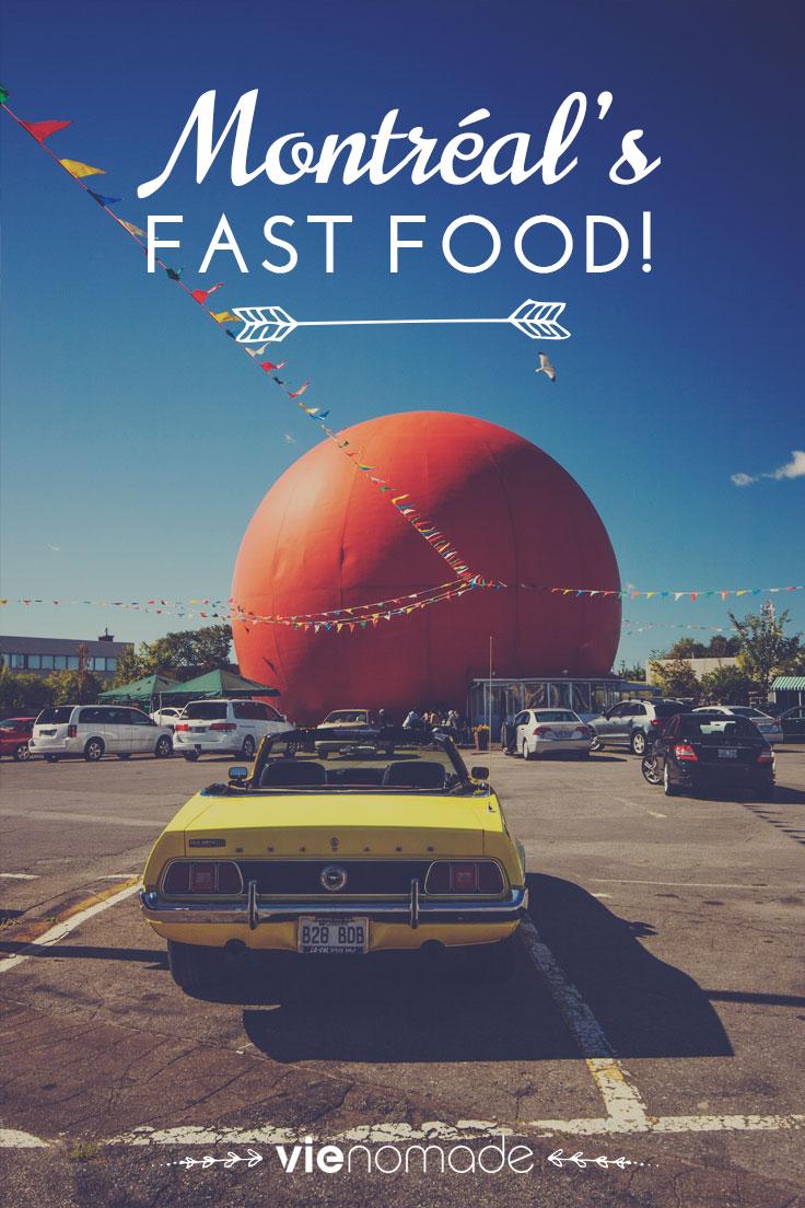Fast Food à Montréal