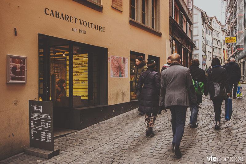 Cabaret Voltaire, Zürich