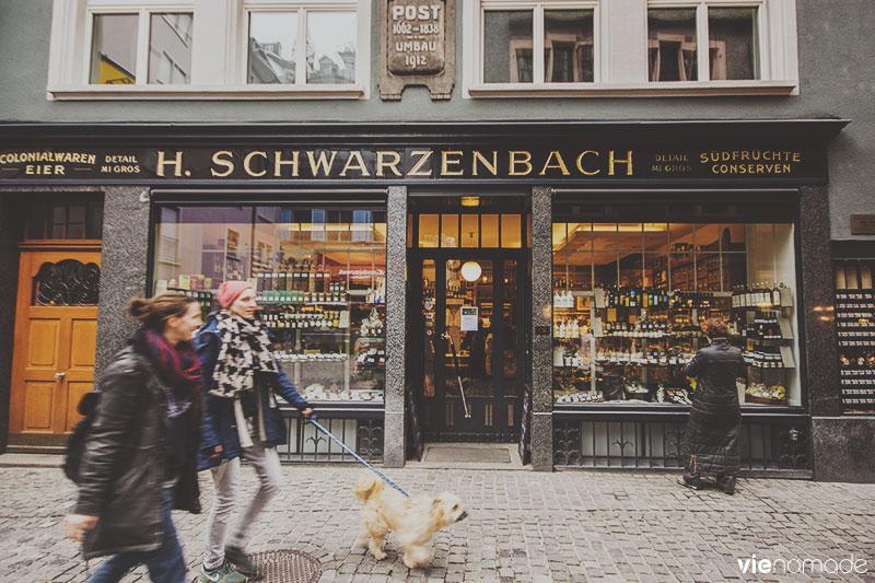 H. Schwarzenbach, Zürich