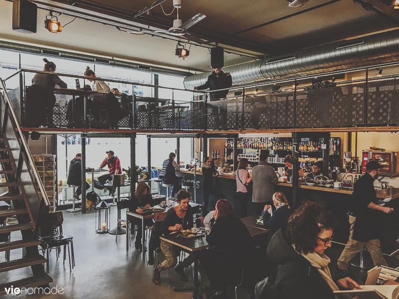 Sphères café-librairie à Zürich