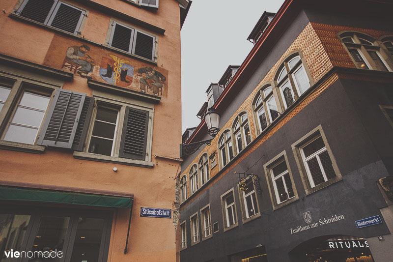 Zürich Niederdorf, la vieille ville