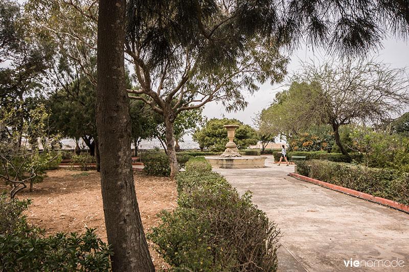 Jardin botanique Argotti à Floriana, à côté de La Valette, Malte