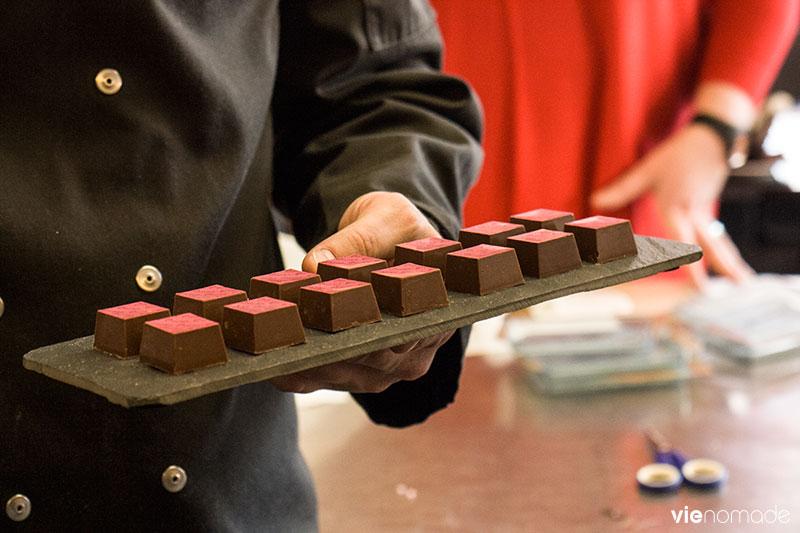 Atelier chocolat à Chocolato, Gand