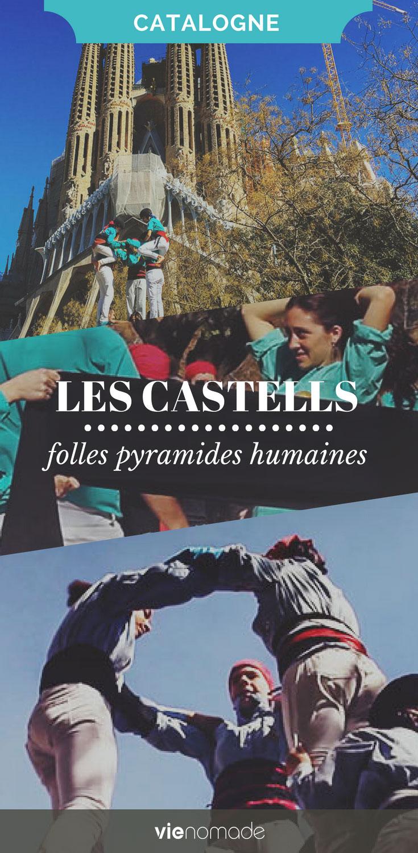 Castells: pyramides humaines de Catalogne