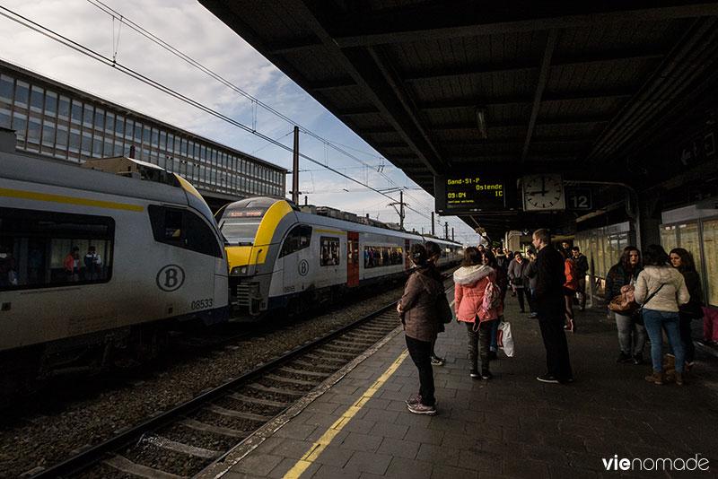 Gand en train depuis Bruxelles Midi