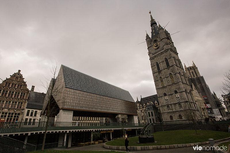 Halle municipale de Gand, Belgique