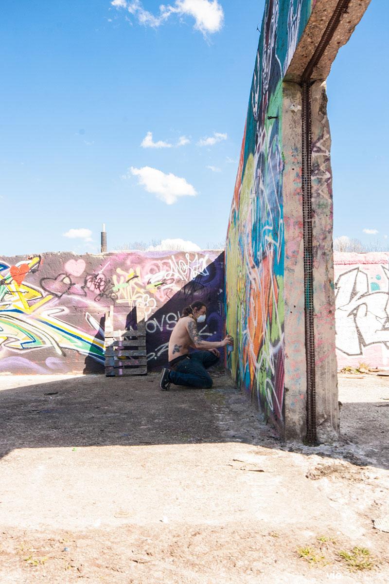 Graffitis à Gand