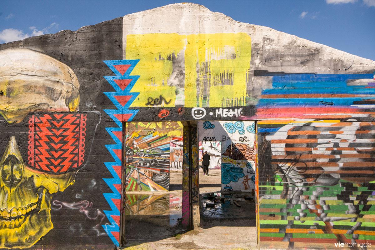 Street art à Grindbakken, Gand