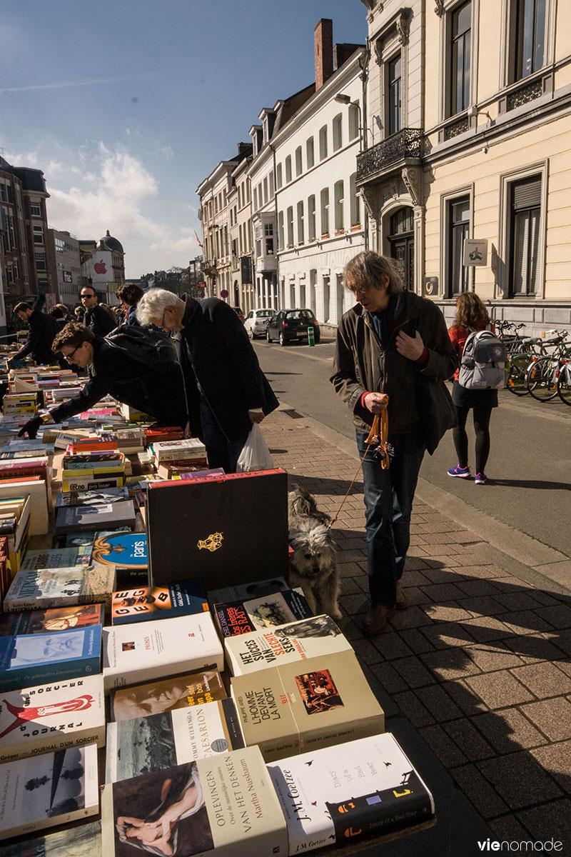 Marché au livres, Gand
