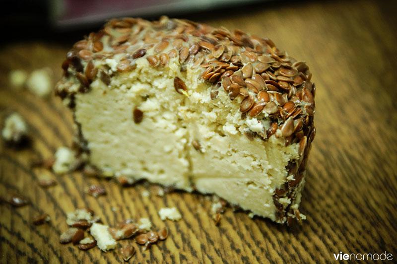 Le fromage de cajou de Beit HaShita