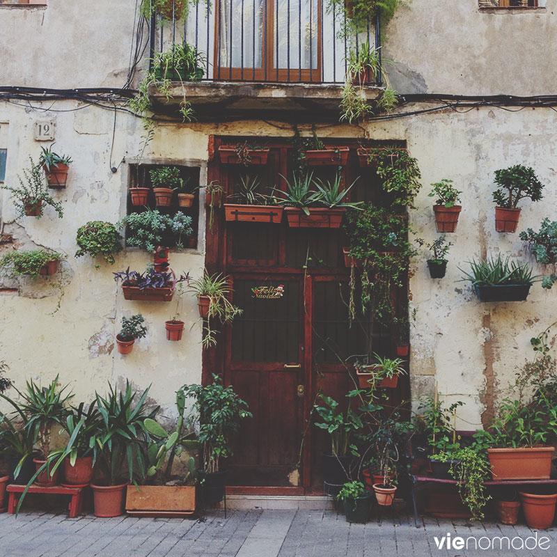 Barcelone, la célèbre porte du Born