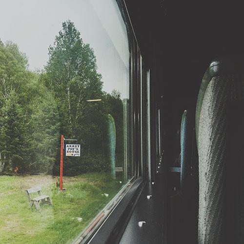 Train Senneterre-Montréal, Québec
