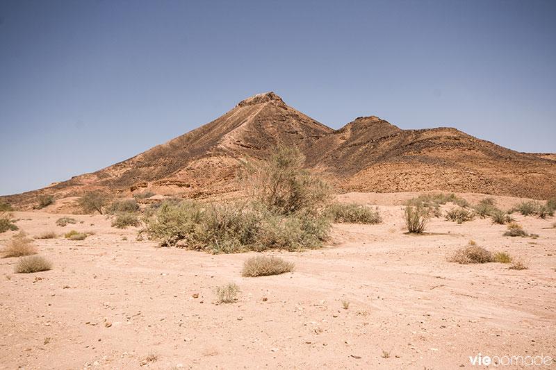 Sentiers de randonnée dans le cratère Maktesh Ramon