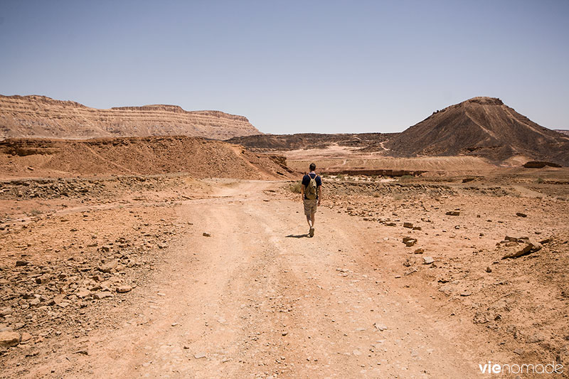 Randonnée autour de Mitzpe Ramon, Israël