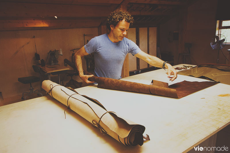 NOC design, atelier de cuir