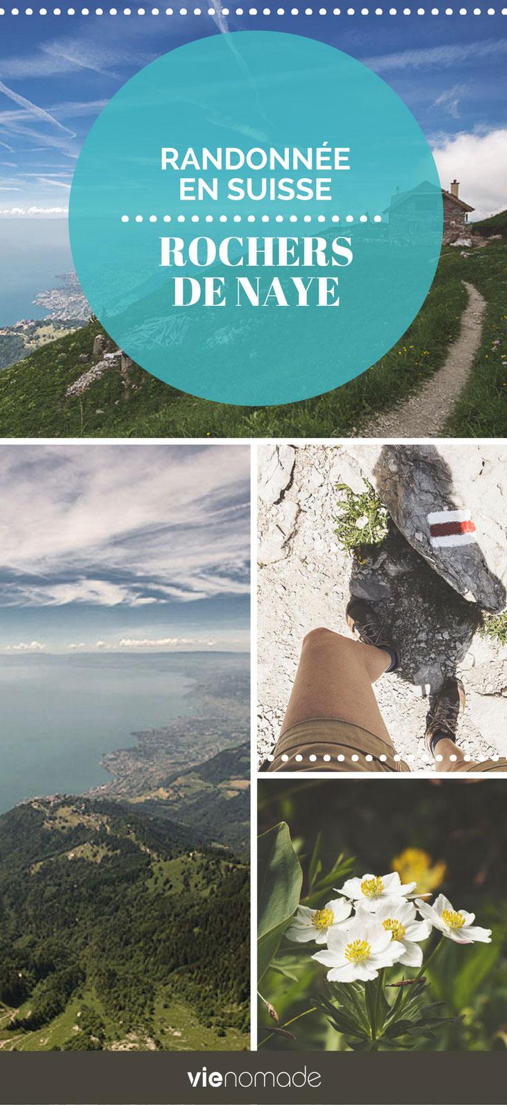 Randonnée Rochers de Naye, Montreux, Suisse