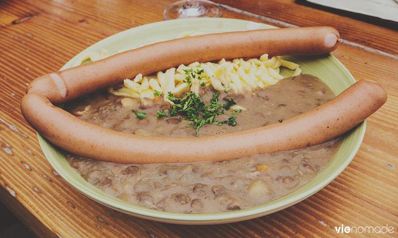 Manger au Ruhestein: Darmstädter Hütte