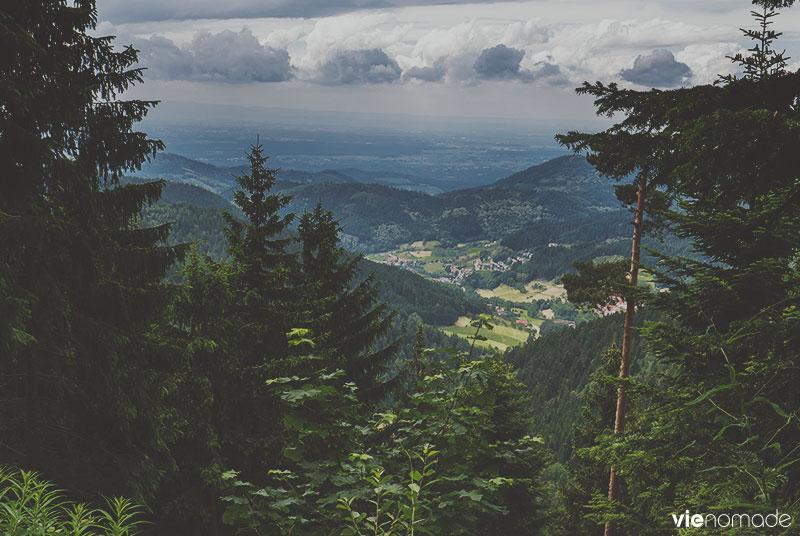 Randonnée au Ruhestein, Forêt-Noire