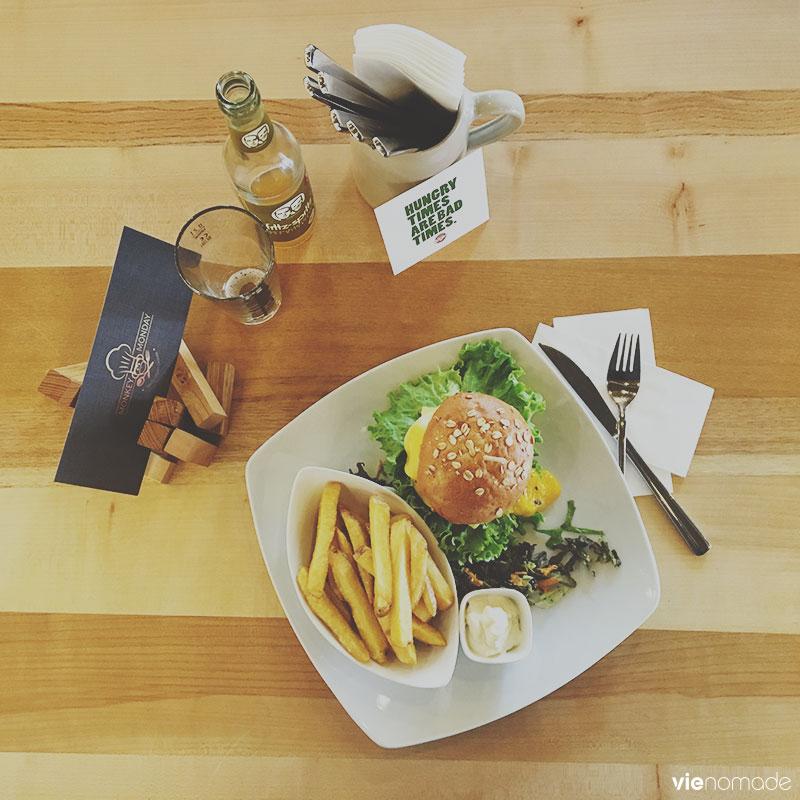 Bunter Burger, hamburger vegan à Cologne