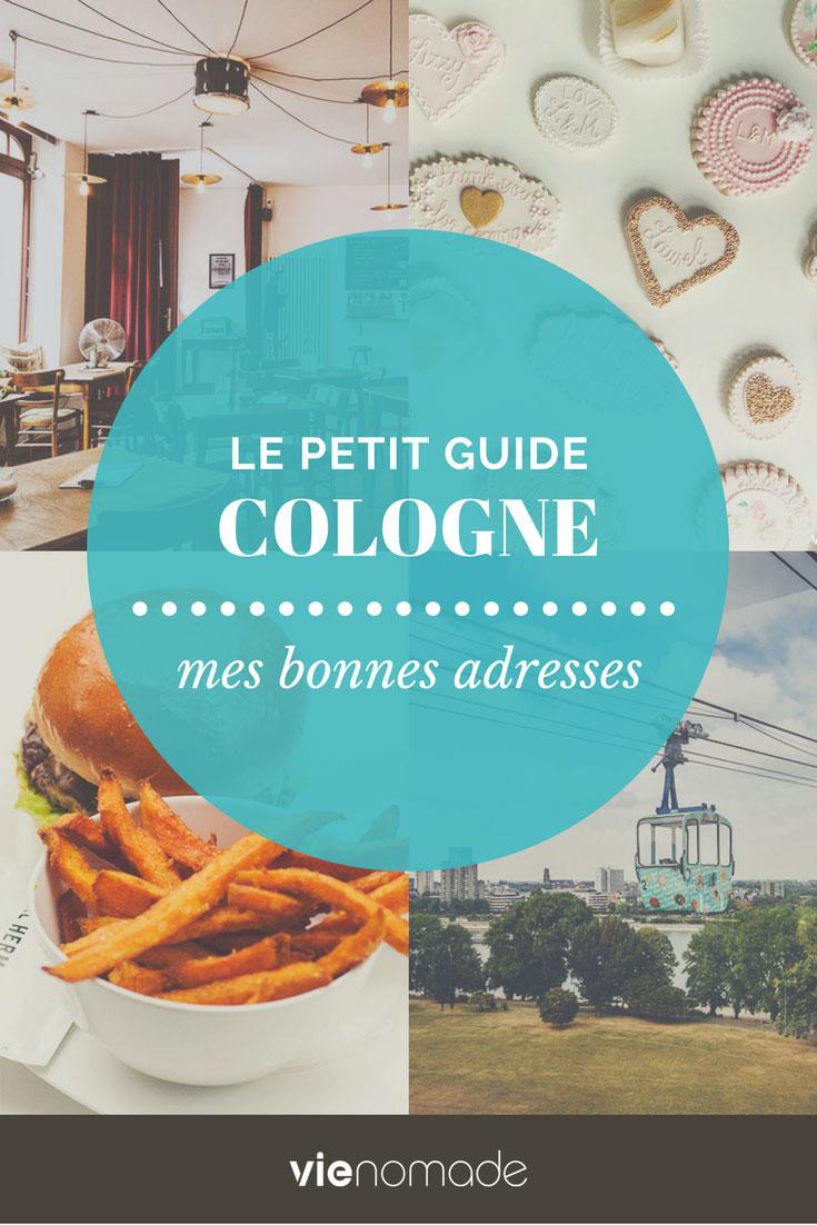 Que faire et où manger à Cologne en Allemagne, le guide!