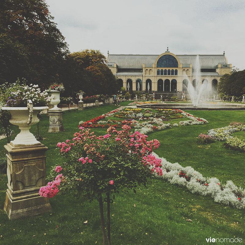 Le jardin botanique de Cologne