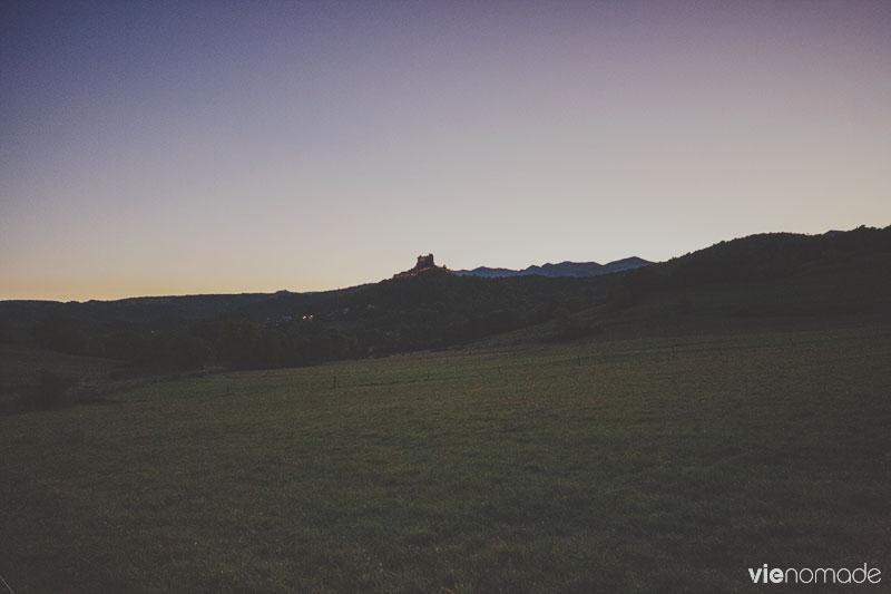 Sur la route en Auvergne