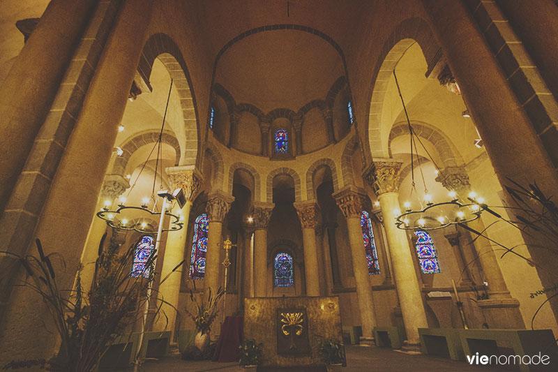 Eglise romane en Auvergne