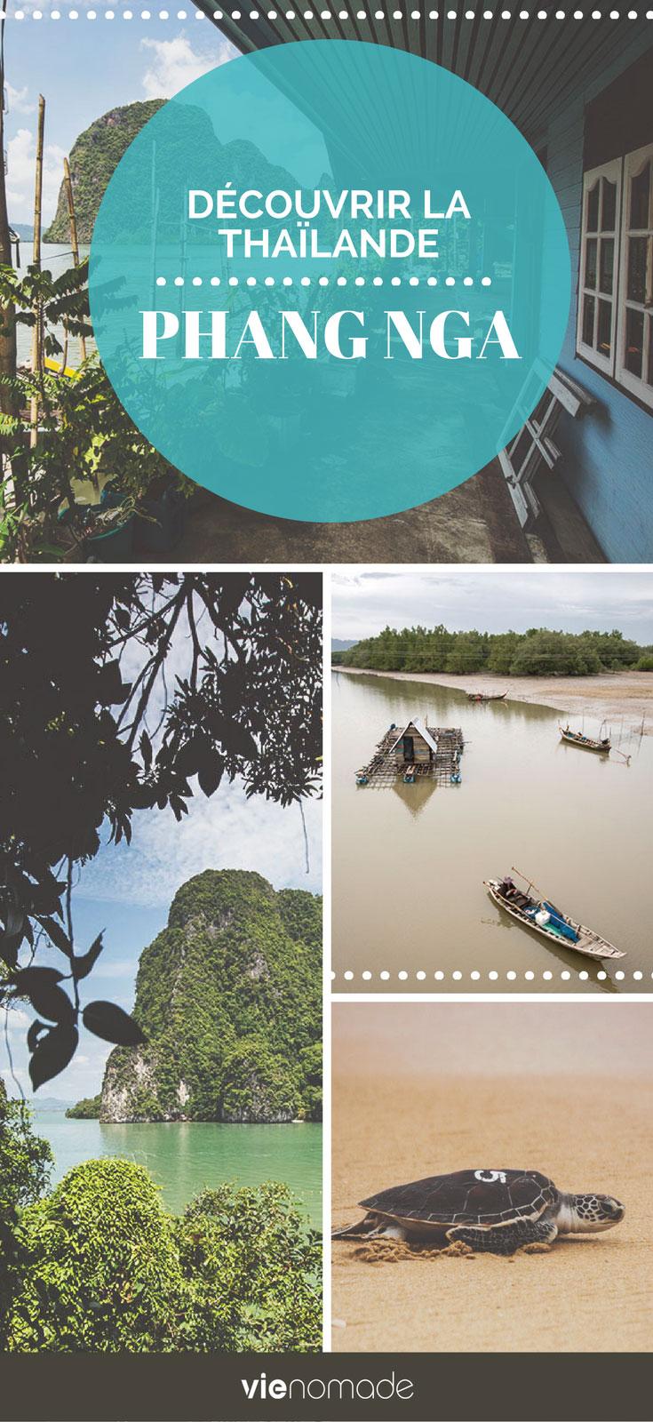 Découvrir la province de Phang Nga en Thaïlande: le guide