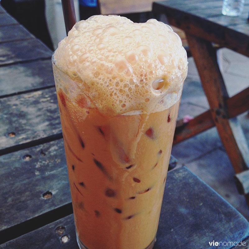 Cha yen, le thé froid thaïlandais