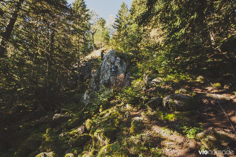 Domaine Prabouré en Auvergne, via ferrata