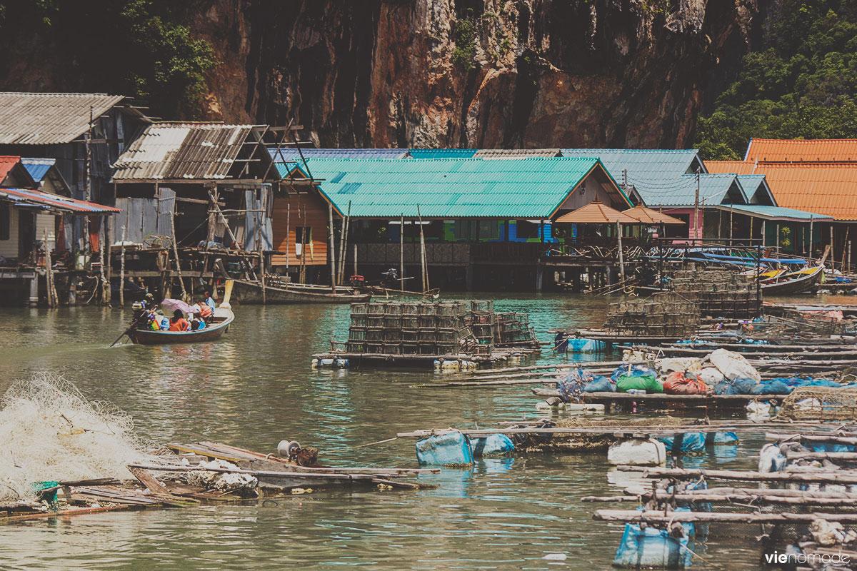 Ko Panyi, village flottant