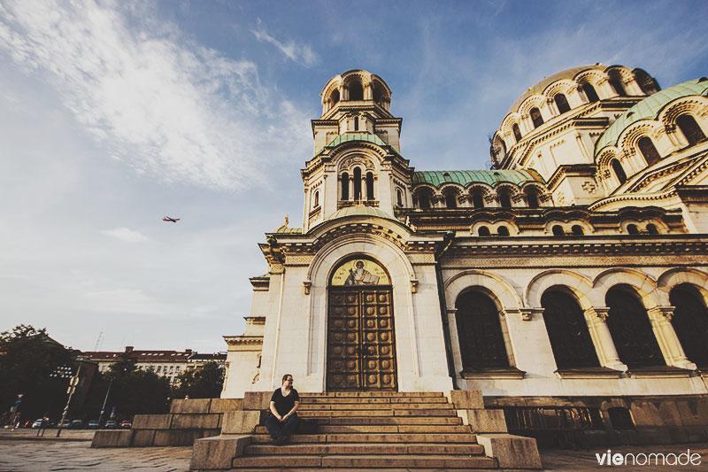 Cathédrale Alexander Nevski à Sofia, en Bulgarie