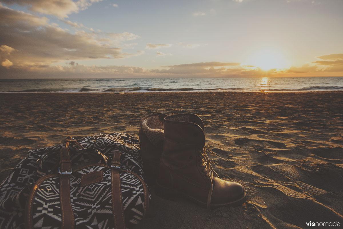 Ostia plage