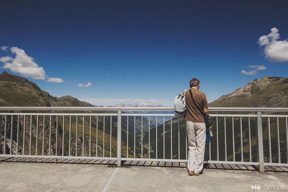 Vue du Lac des dix à Hérémence
