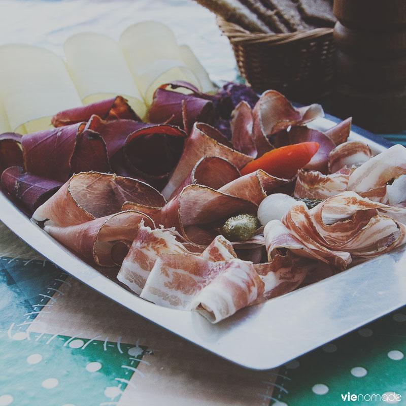 Viandes et fromages du Valais
