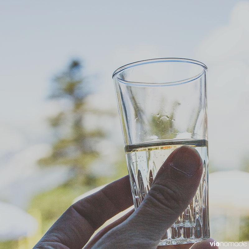 Fendant, vin blanc du Valais