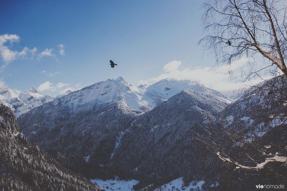 Village de Gryon, Suisse