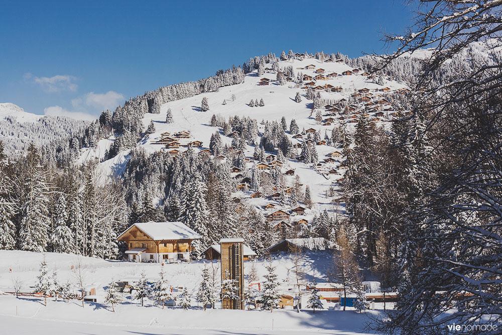 Gryon, La Barboleuse, Suisse