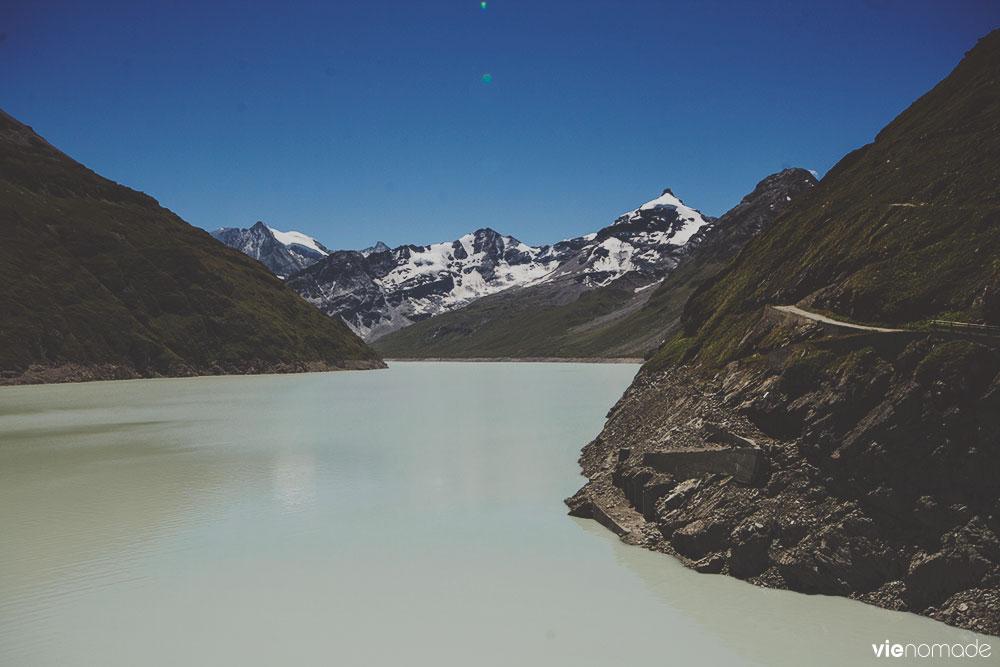 Lac des dix à Hérémence