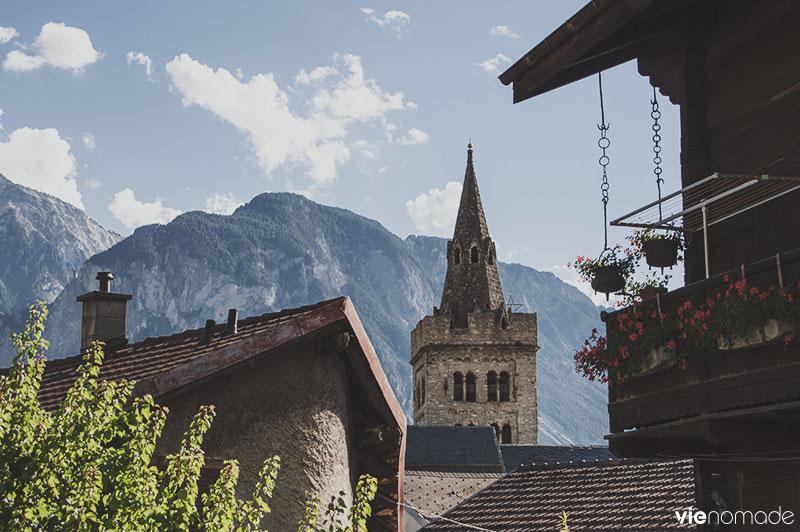 Village de Leuk, Haut-Valais
