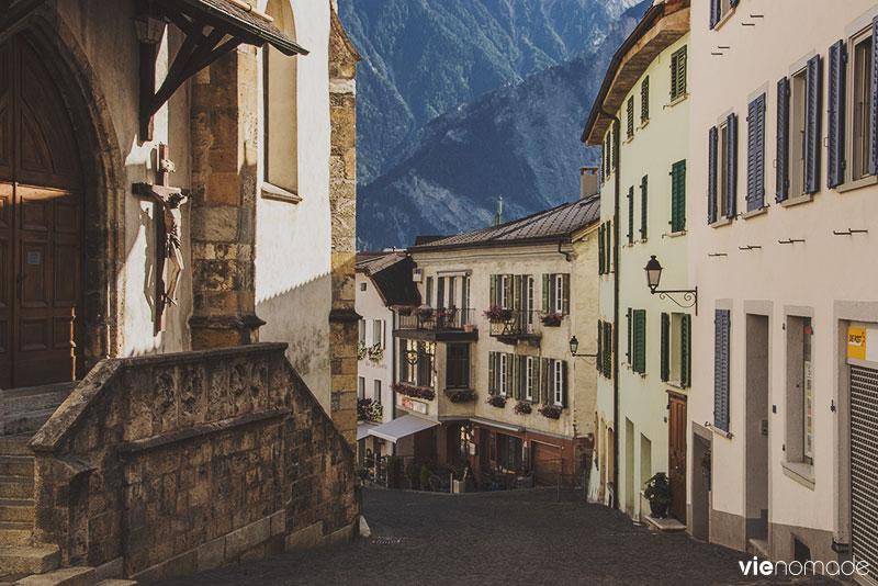 Village de Loèche, Haut-Valais