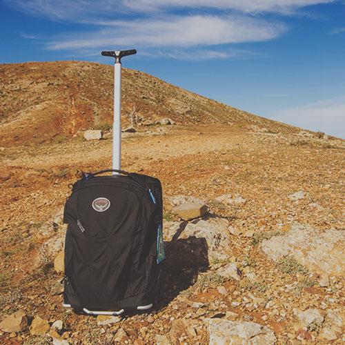 Le bagage à main idéal pour la vie nomade et le voyage